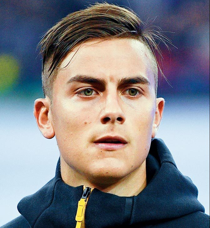パウロ・ディバラ選手の髪型