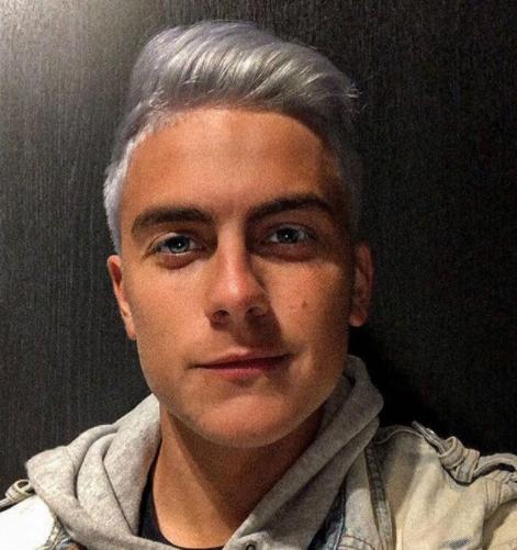 パウロ・ディバラ選手の銀髪